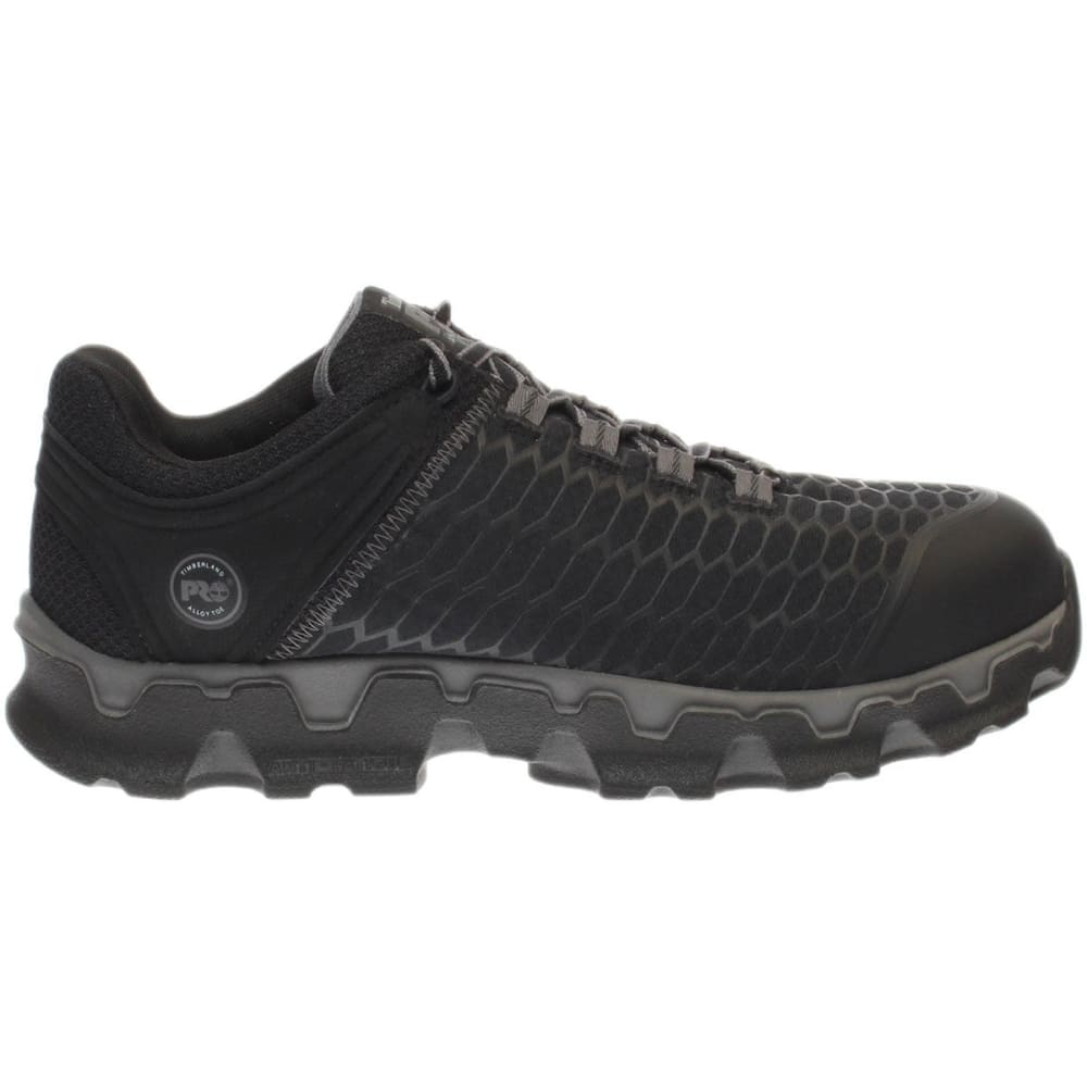 TIMBERLAND PRO Men's Powertrain Sport Alloy Toe Work Shoes, Black - BLACK