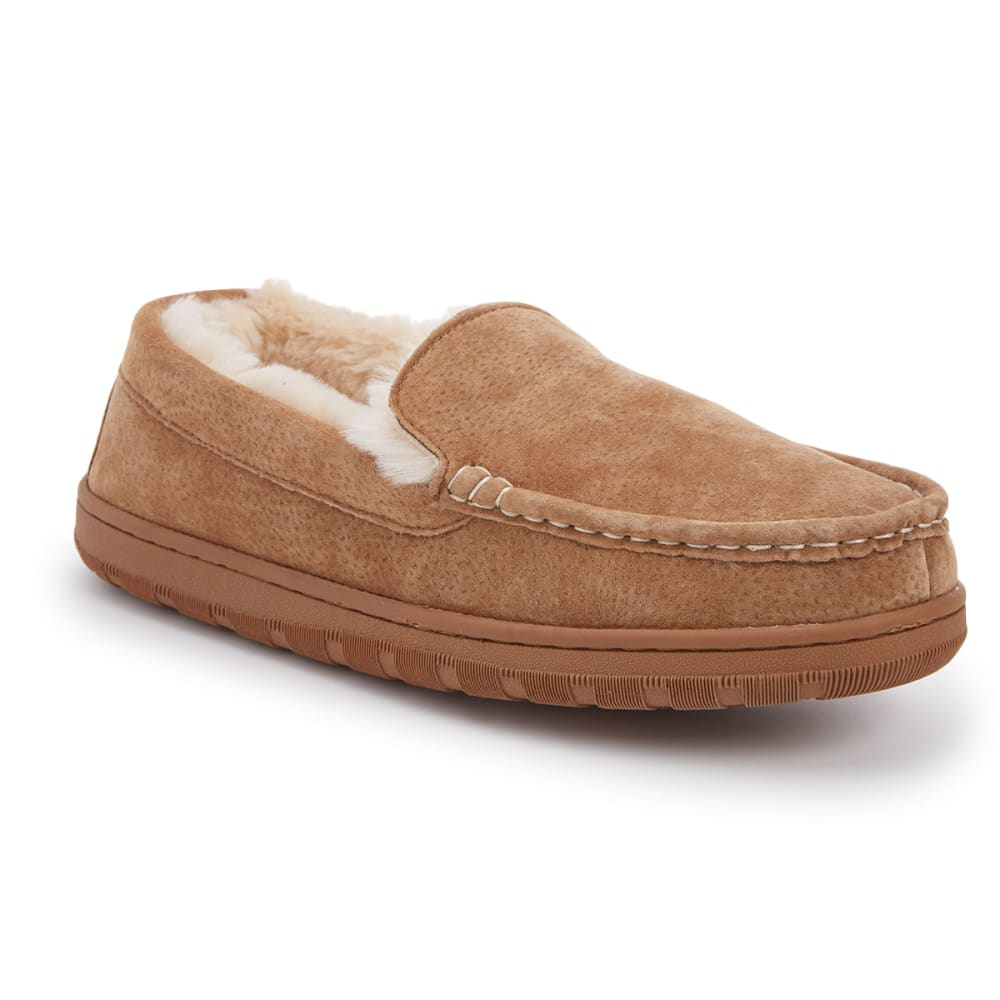 LAMO Men's Warren Sheepskin Loafers - BEIGE-TAN
