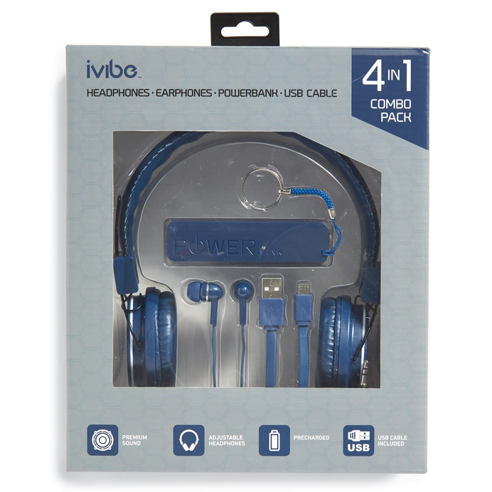 IVIBE 4-in-1 Combo Pack - BLUE