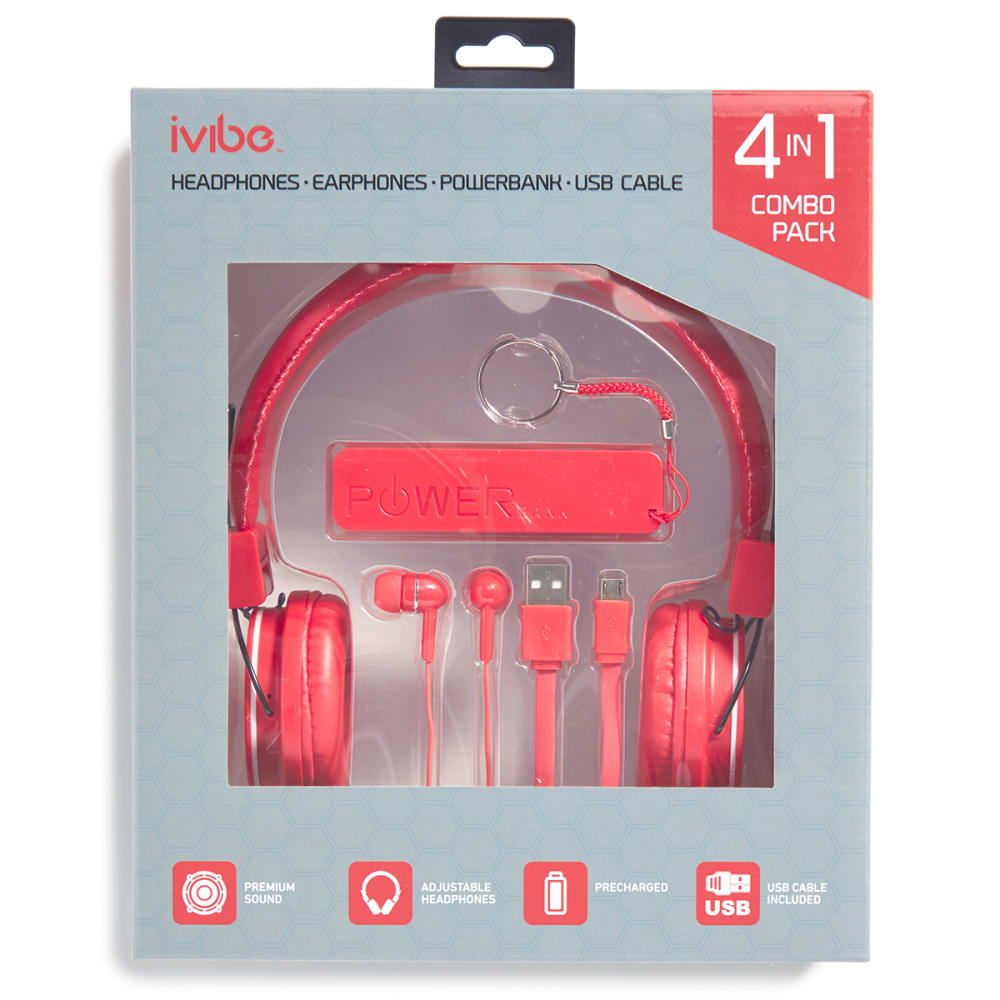IVIBE 4-in-1 Combo Pack - RED