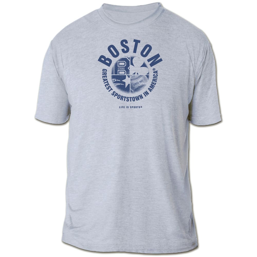 LIFE IS SPORTS Boston Greatest Sportstown Tee - GREY