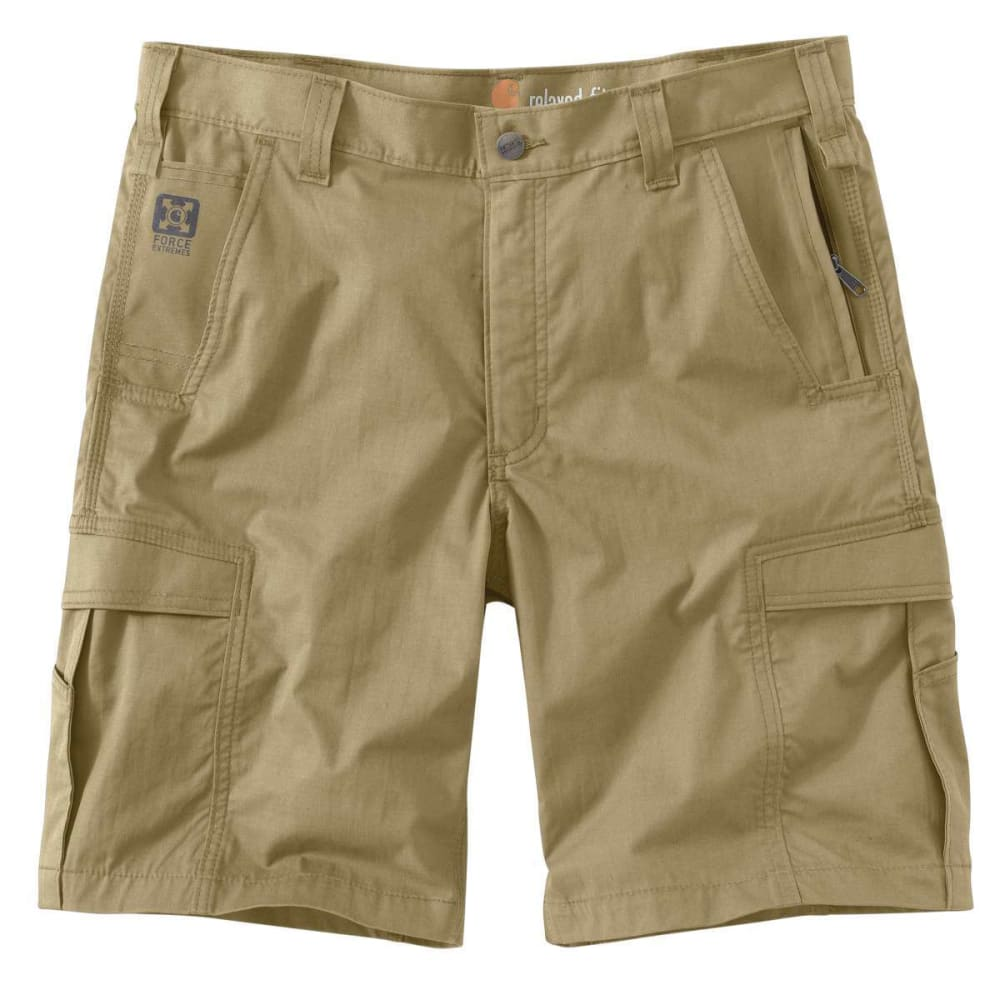 CARHARTT Men's Force Extremes Cargo Shorts - DK KHAKI