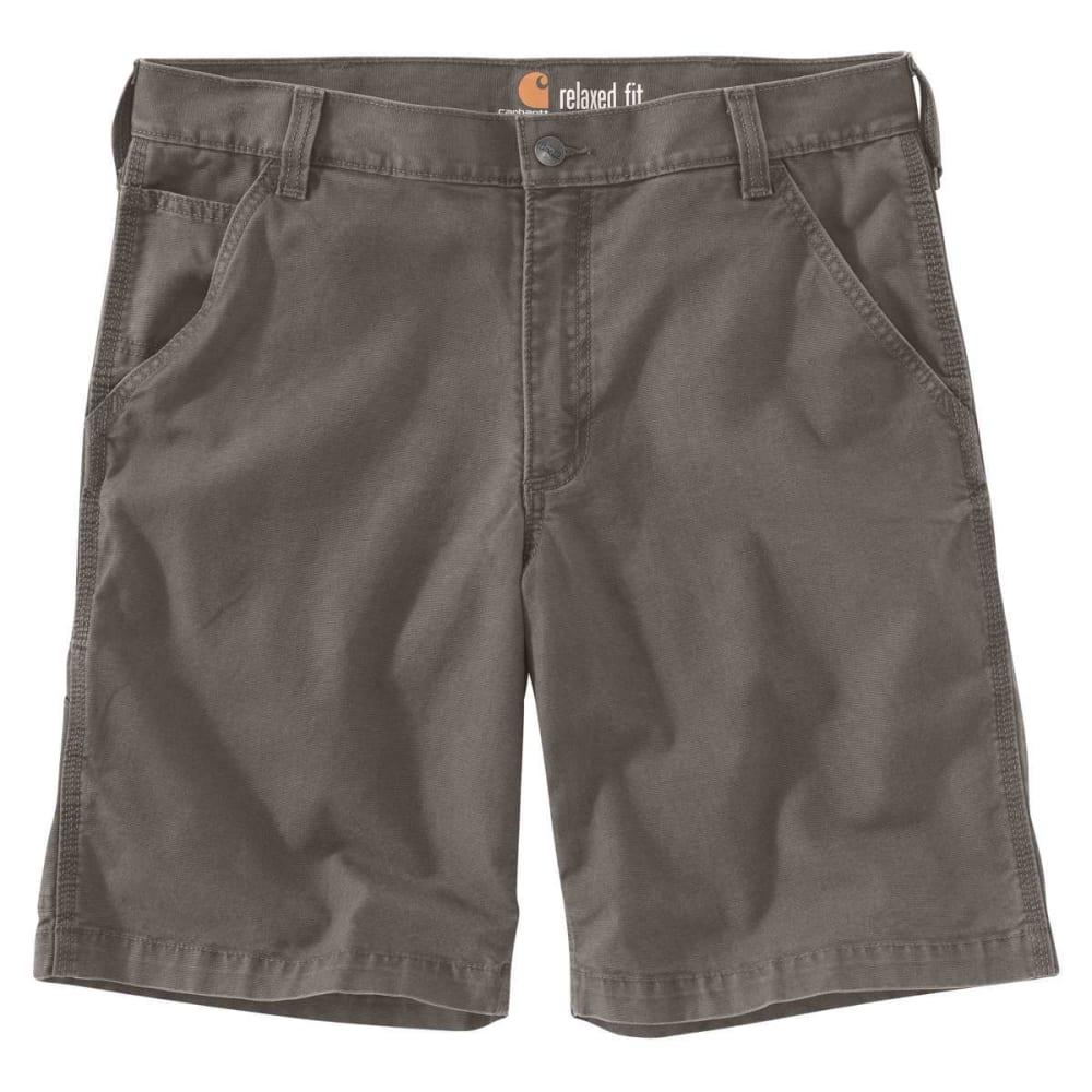 CARHARTT Men's Rugged Flex Rigby Shorts - GRAVEL 039