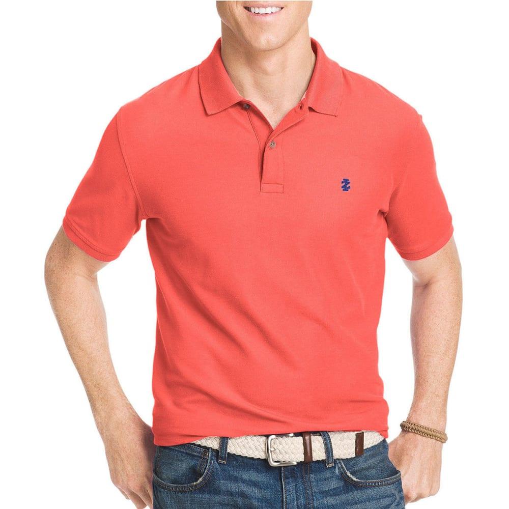 IZOD Men's Advantage Polo Shirt - TEA ROSE-656