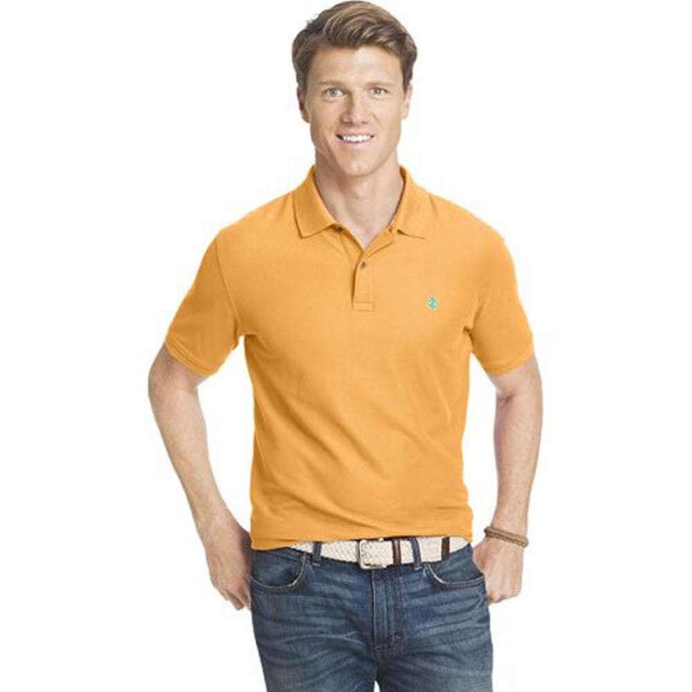 IZOD Men's Advantage Polo Shirt - APRICOT NECTAR-817