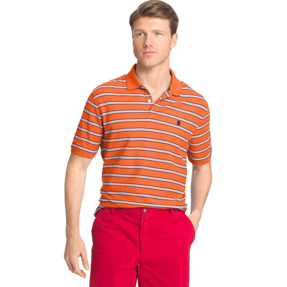 IZOD Men's Advantage Polo Shirt - CAMELLIA-810