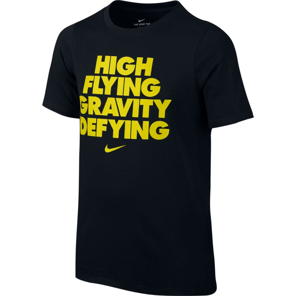 NIKE Big Boys' Dry High Flying Graphic Short-Sleeve Tee S