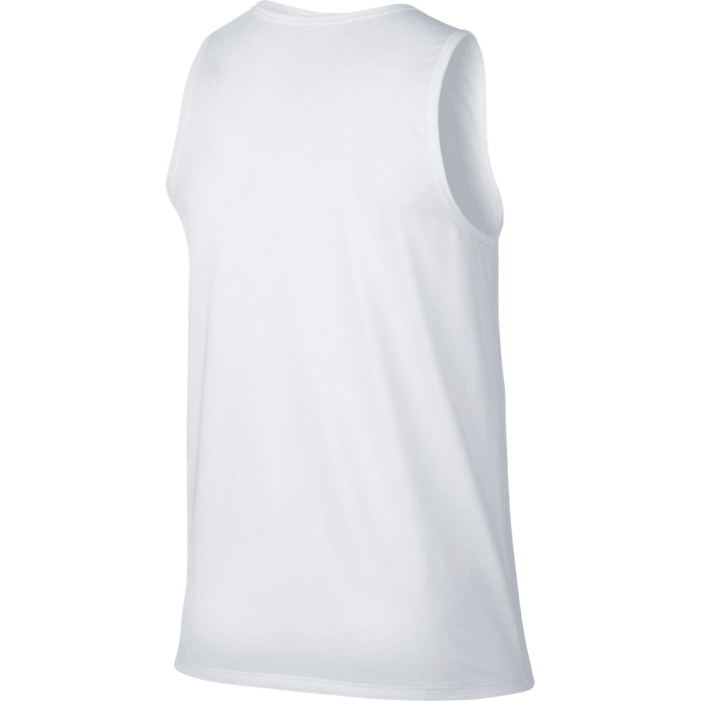 NIKE Men's Legend Tank Top - WHITE/BLACK-100