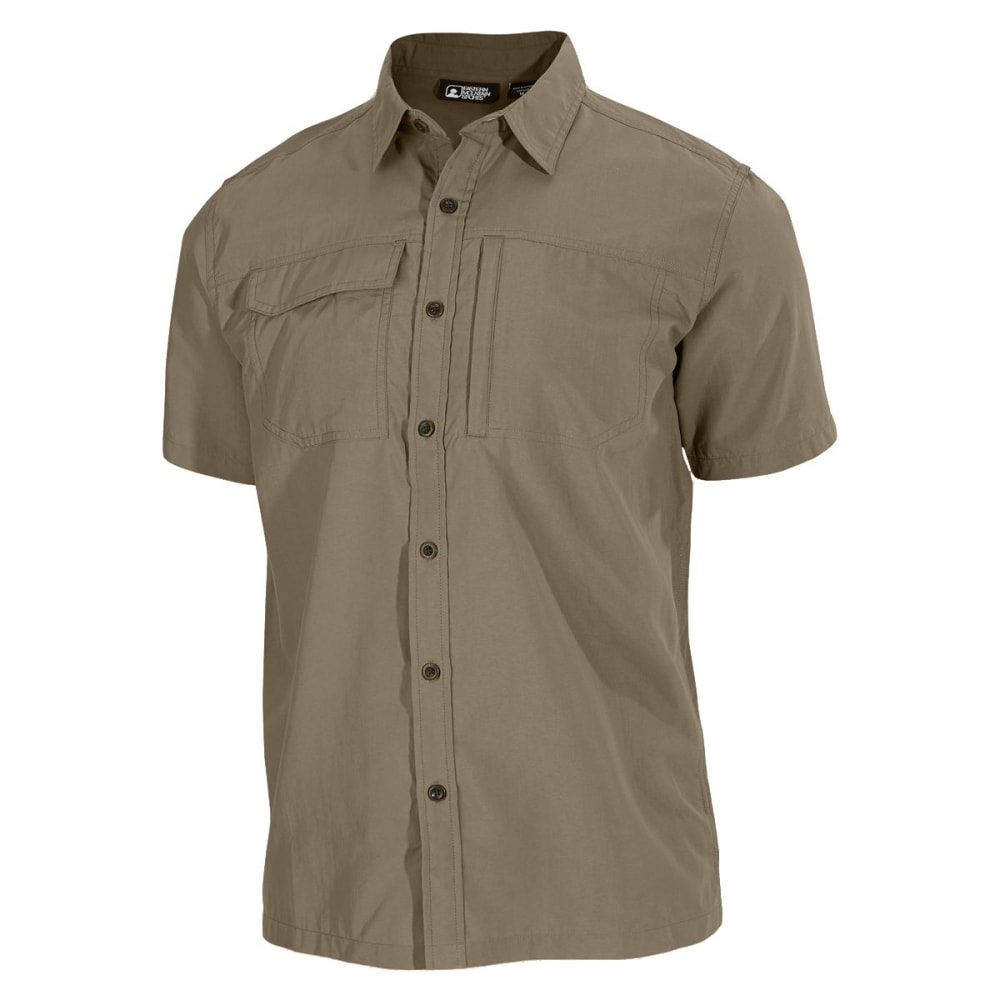 Ems(R) Men's Trailhead Short-Sleeve Shirt - Brown, S