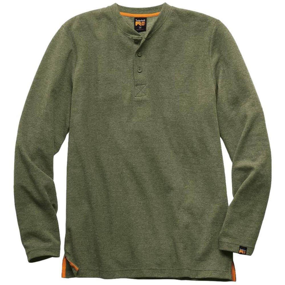 TIMBERLAND PRO Men's Long Sleeve Knit Henley S