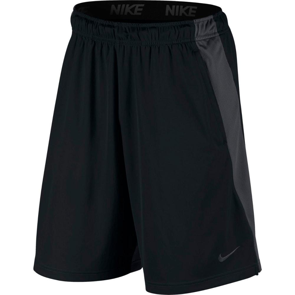 NIKE Men's 9 in. Dri-FIT Training Shorts - BLACK/ANTHRACITE-010