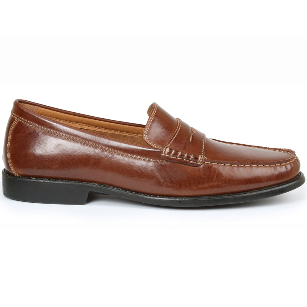 IZOD Men's Edmund Penny Loafers - TAN