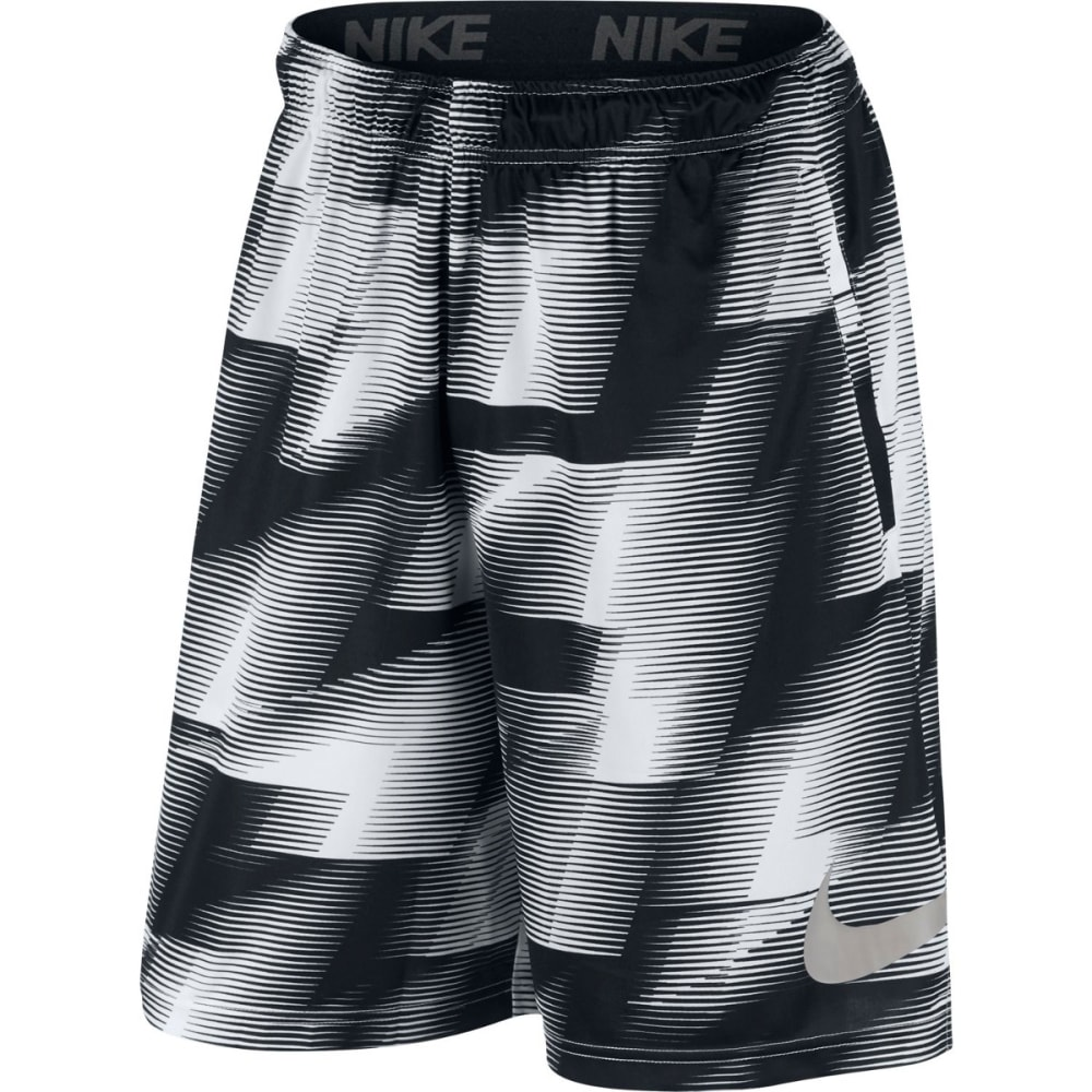 NIKE Men's 9 in. Dry Warp Printed Training Shorts L