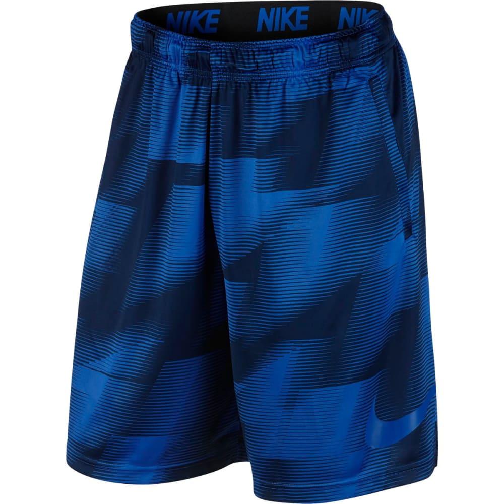 NIKE Men's 9 in. Dry Warp Printed Training Shorts L