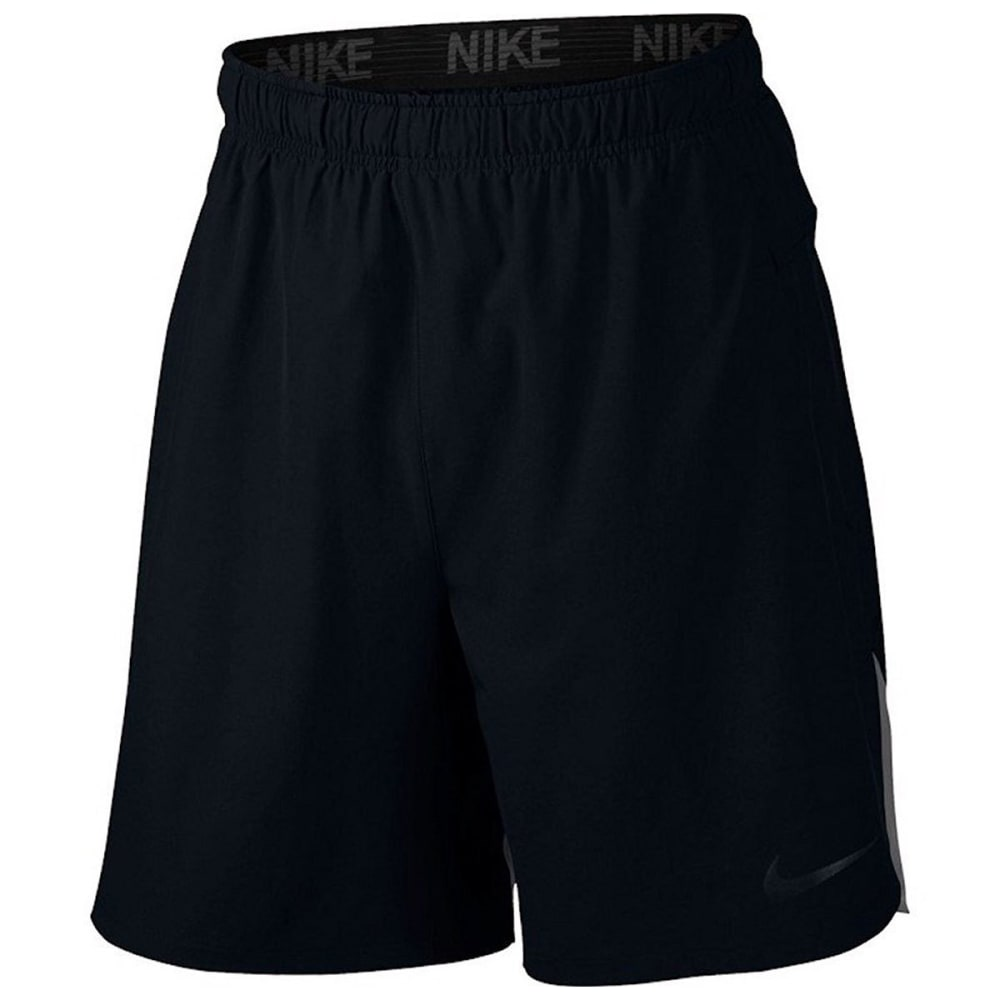 NIKE Men's Flex Training Shorts - BLACK/DK GREY-010