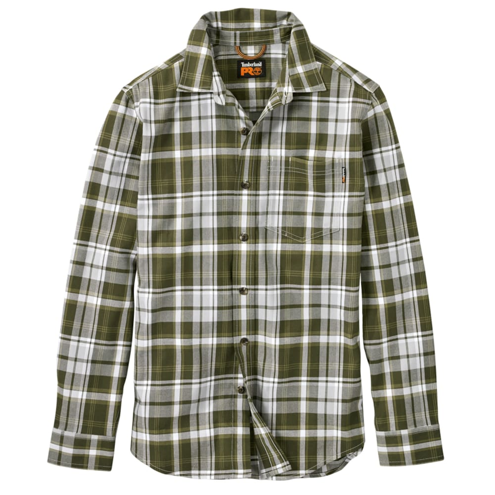 TIMBERLAND PRO Men's R-Value Flannel Long-Sleeve Work Shirt S