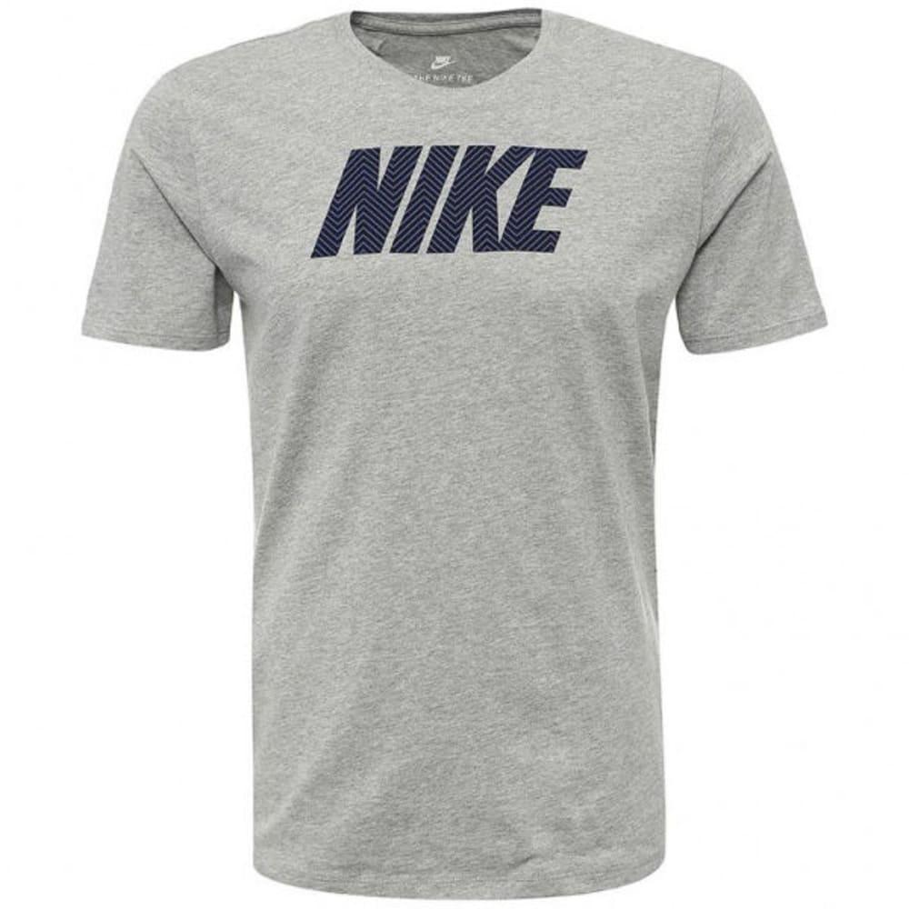 NIKE Men's Herringbone Short-Sleeve Tee M