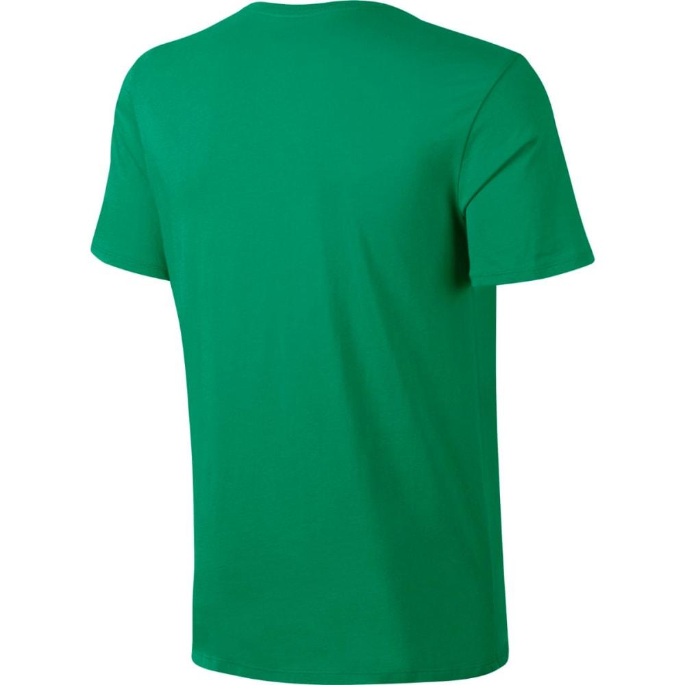NIKE Men's Herringbone Short-Sleeve Tee - STADIUM GRN/WHT-324