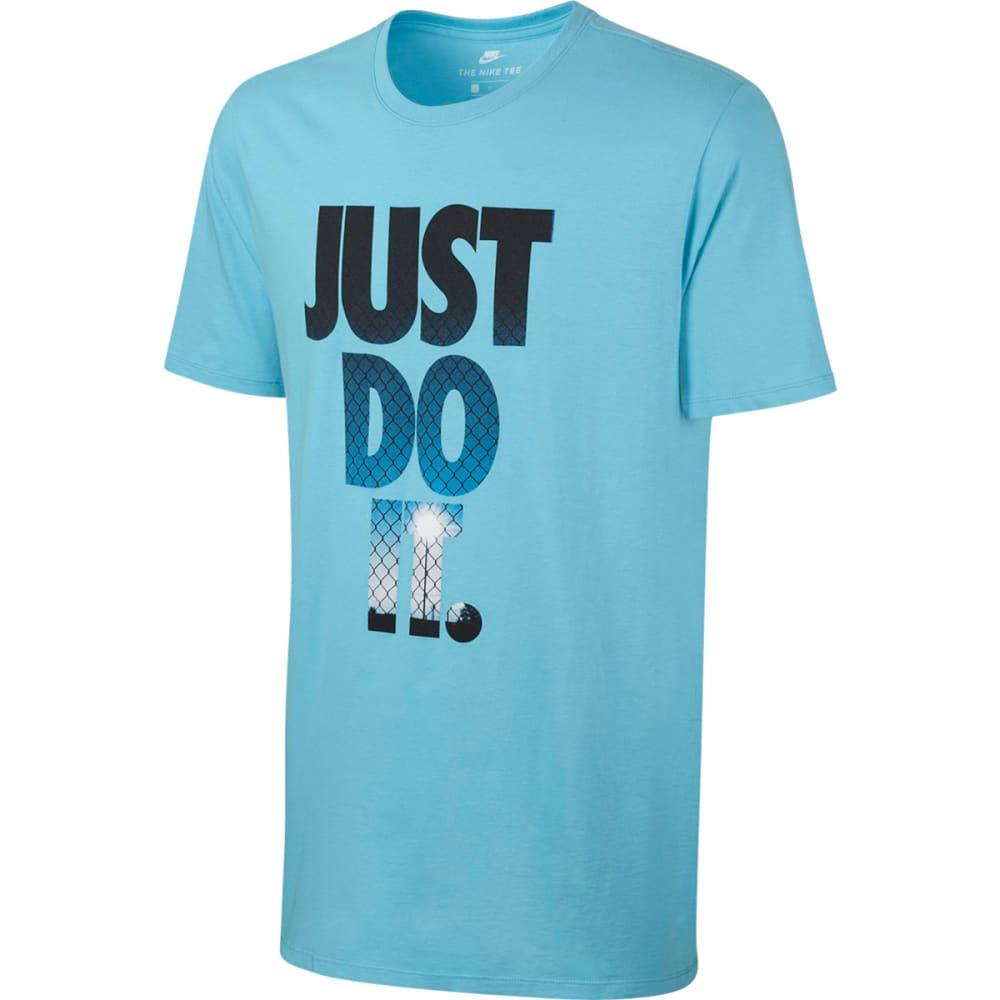 NIKE Men's JDI Photo T-Shirt - VIVID SKY/BLUE-432