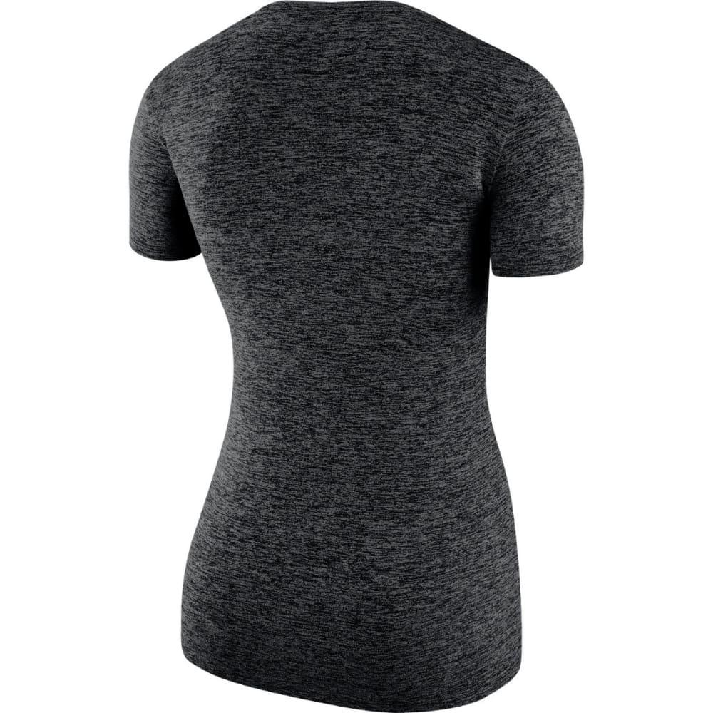 NIKE Women's Legend Short Sleeve Shirt - BLACK-010