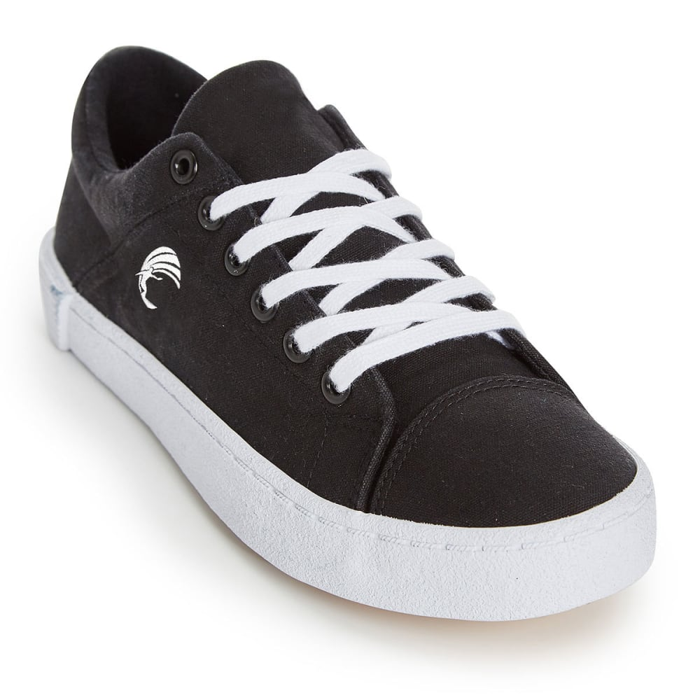 HANG TEN Women's Canvas Hermosa Shoes - BLACK