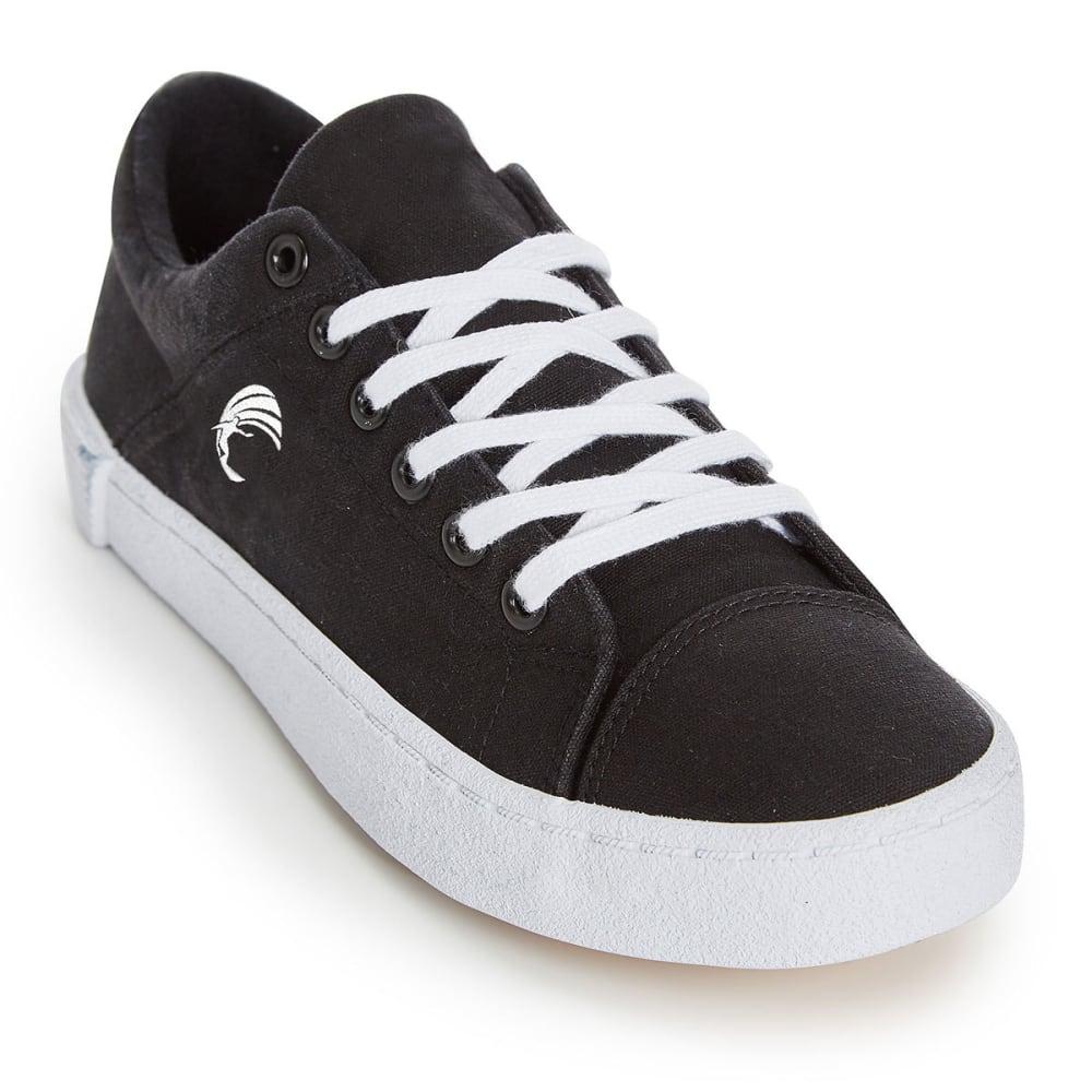 HANG TEN Women's Canvas Hermosa Shoes - BLACK