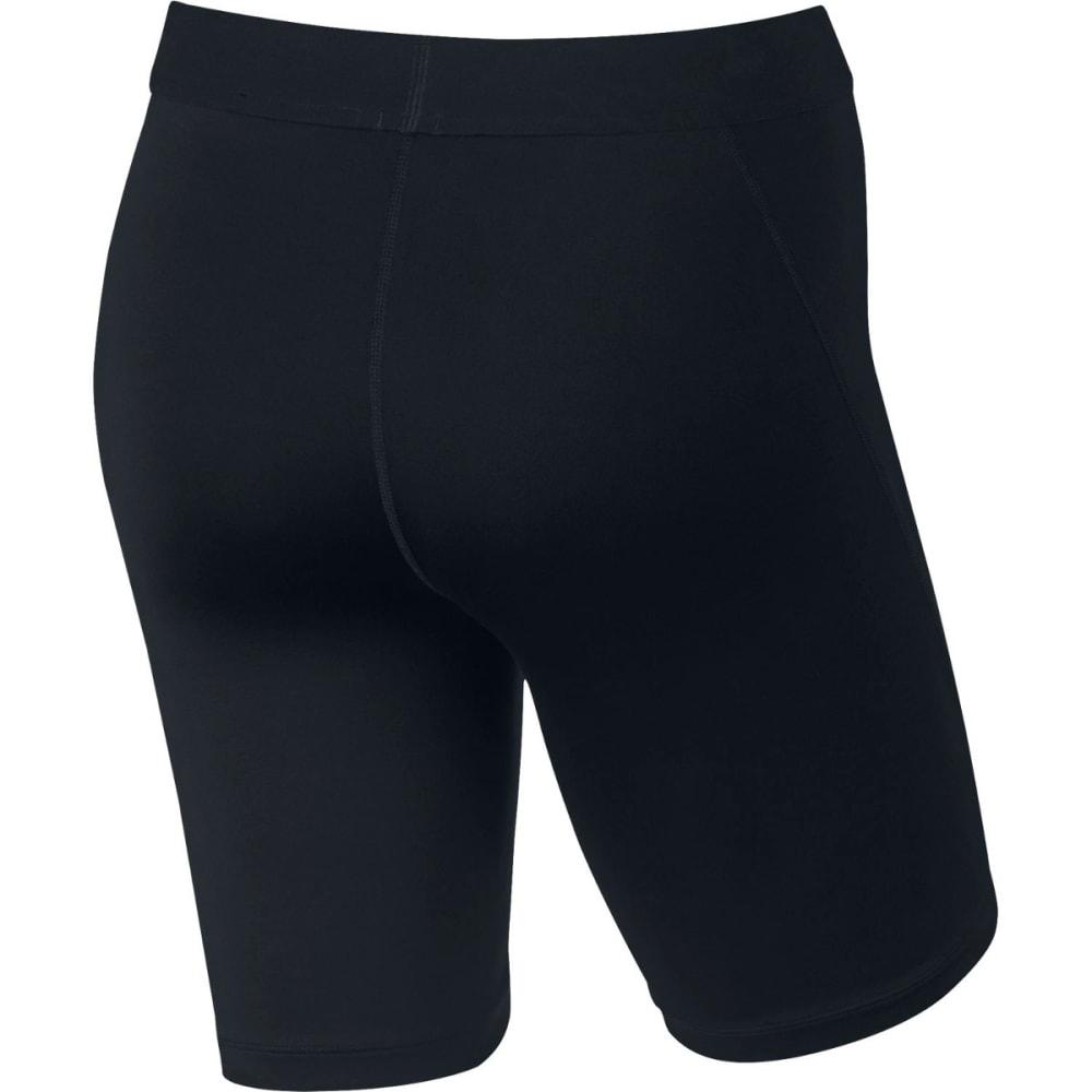 NIKE Women's Pro Shorts - BLACK/WHITE-010
