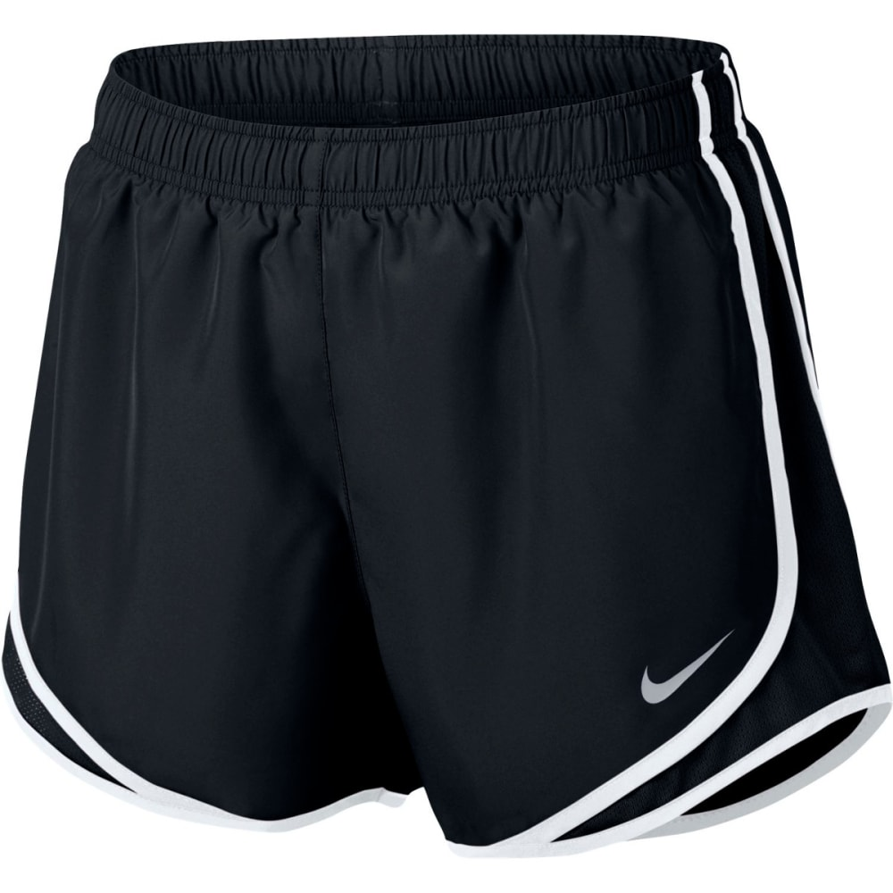 NIKE Women's 3 in. Tempo Running Shorts - BLACK/WHT/GRY-011