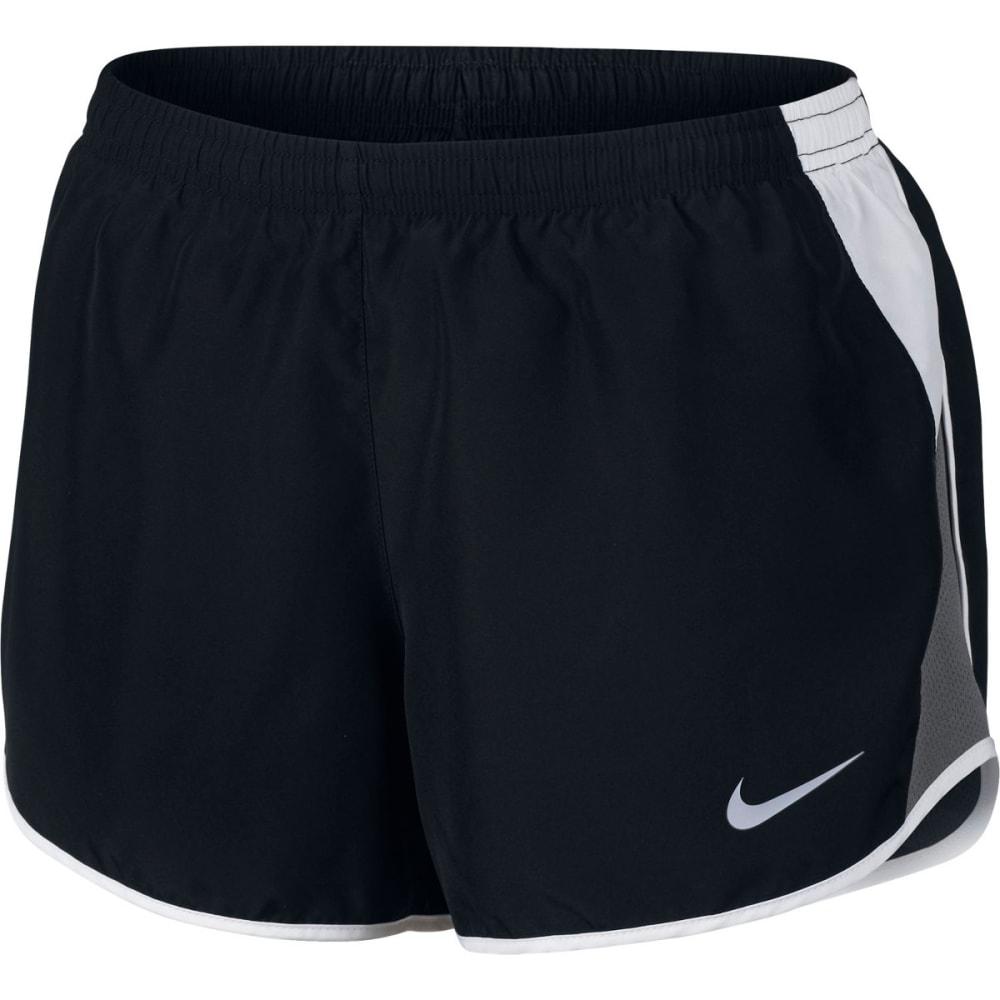 NIKE Women's Dry Running Shorts - BLACK/WHITE-010