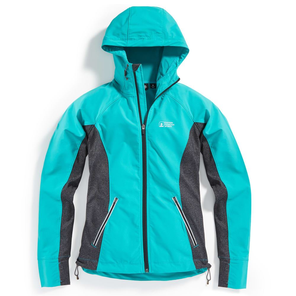 Ems(R) Women's Techwick(R) Active Hybrid Wind Jacket - Green, S