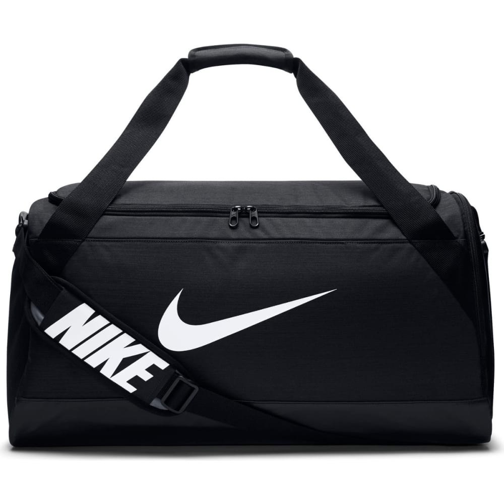 NIKE Brasilia Duffel Bag, Medium - 010-BLK