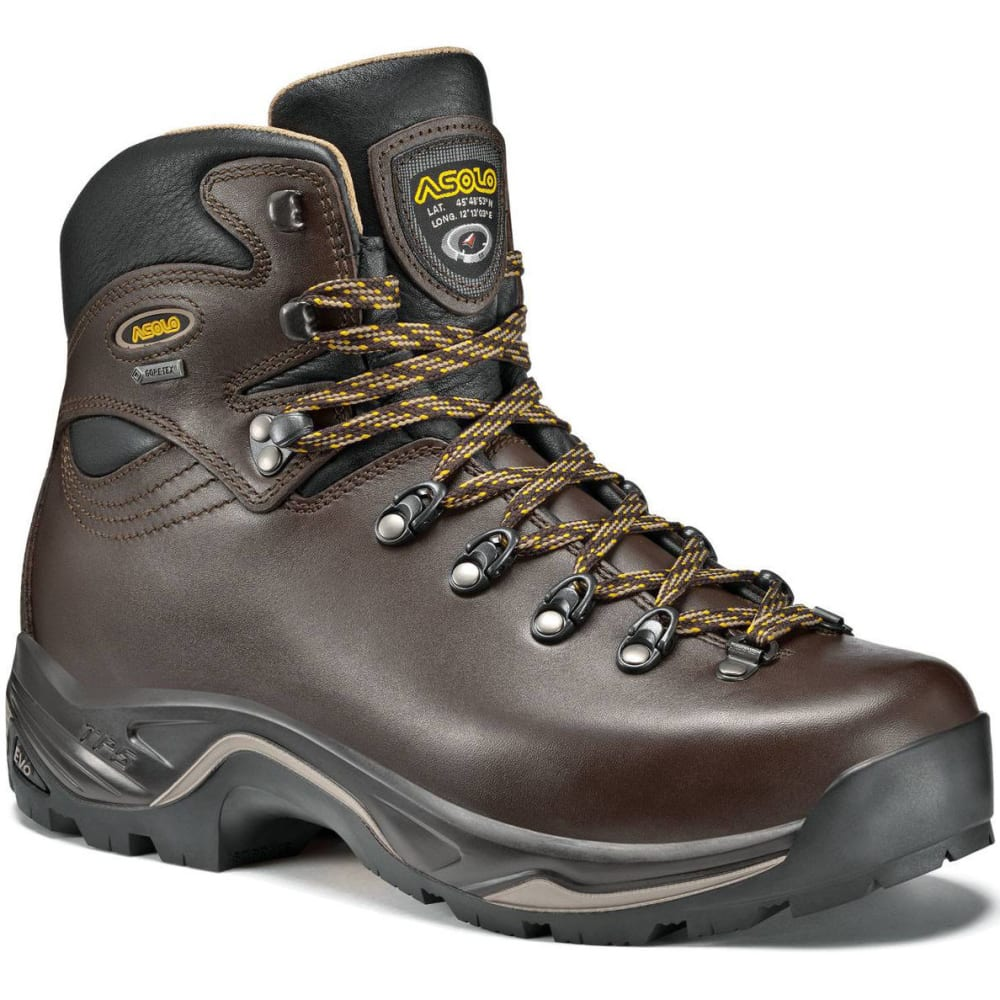 ASOLO Men's TPS 520 GV EVO Backpacking Boots, Wide - CHESTNUT