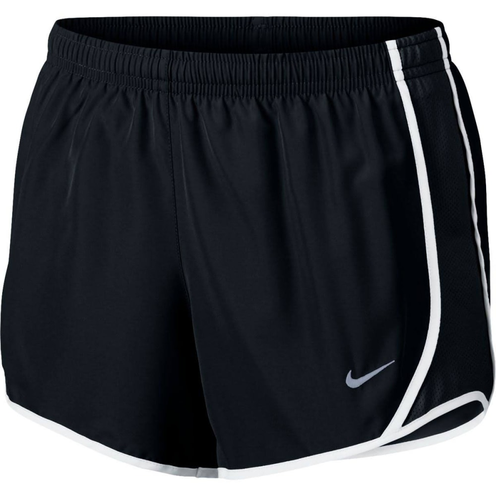 NIKE Big Girls' Dry Tempo Running Shorts - BLACK 010