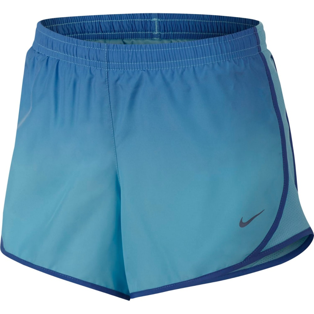 NIKE Big Girls' Dry Tempo Gradient Running Shorts - COMET BLUE 478