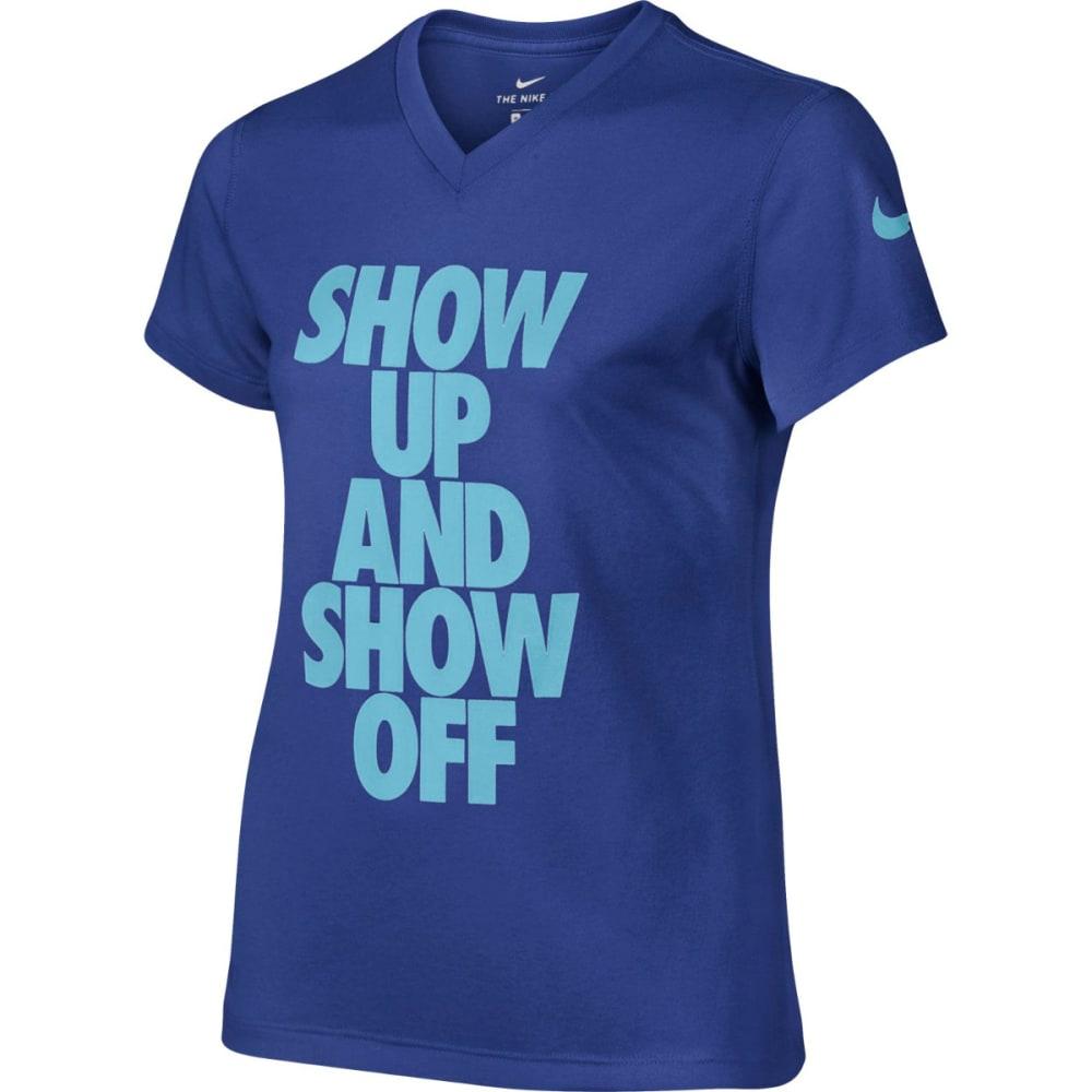 NIKE Girls' Dry-Fit T-Shirt S