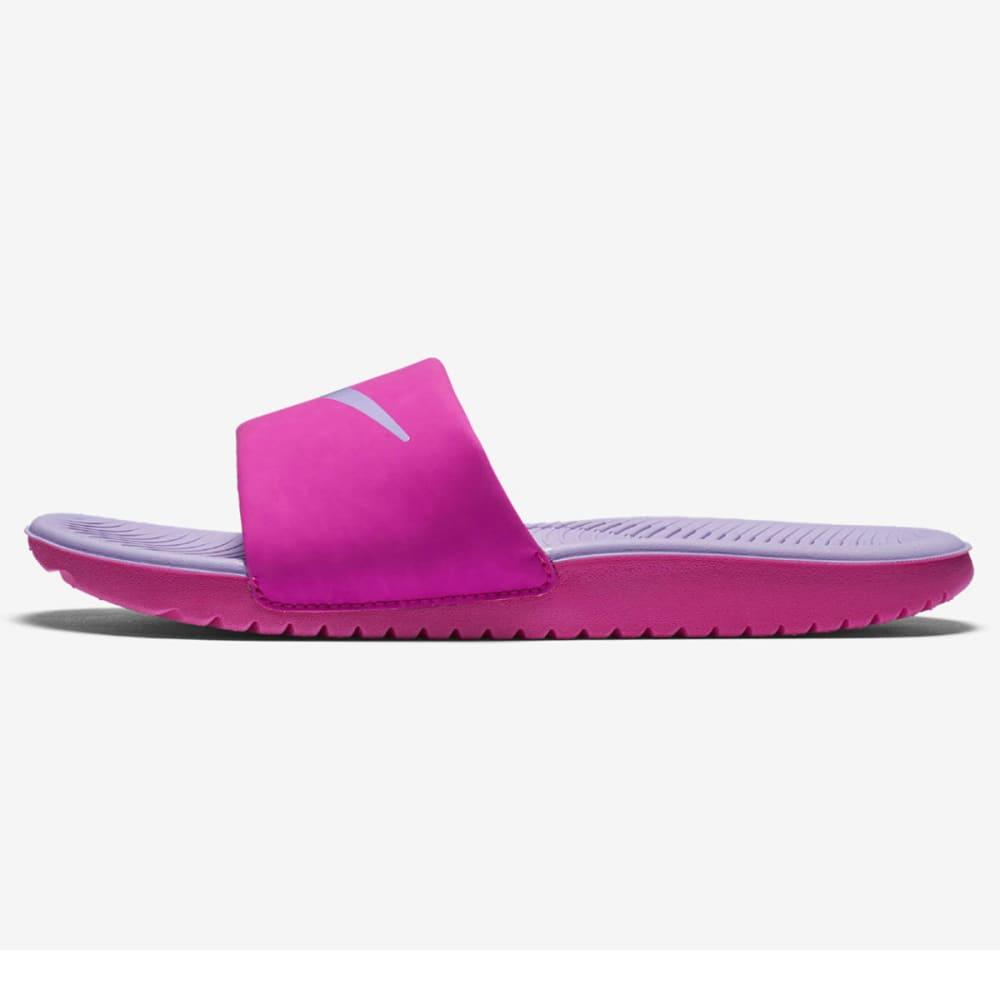 NIKE Girls' Kawa Slide Sandals - FIRE PINK