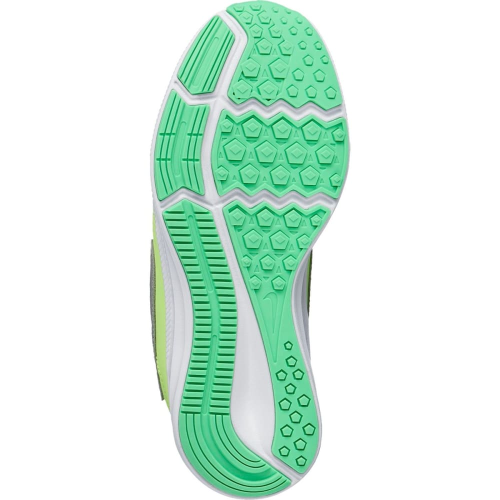 NIKE Little Girls' Downshifter 7 Running Shoes - GHOST GREEN