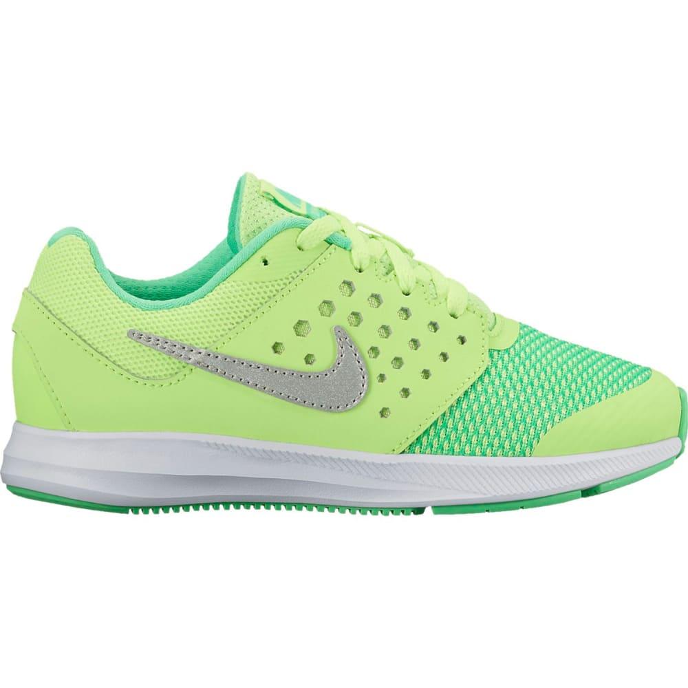NIKE Little Girls' Downshifter 7 Running Shoes - GHOST GREEN