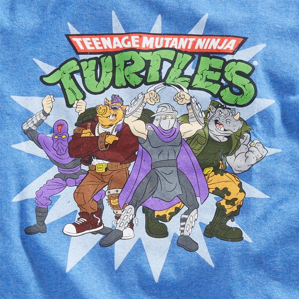 HYBRID Guys' Teenage Mutant Ninja Turtles Bad Dudes Tee - HTR ROYAL