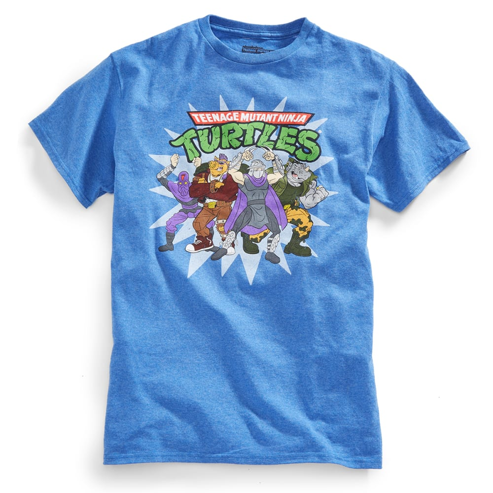 HYBRID Guys' Teenage Mutant Ninja Turtles Bad Dudes Tee - HTR ROYAL