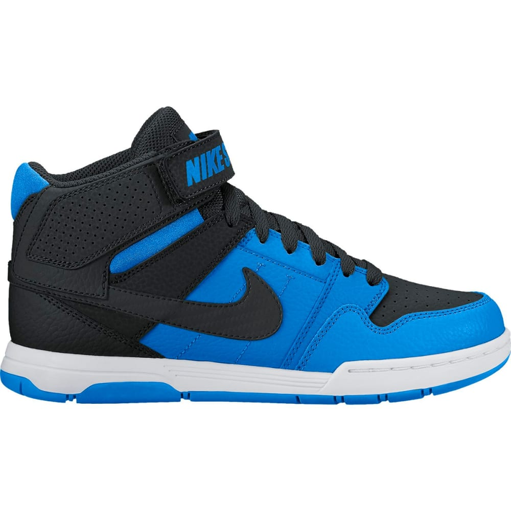 NIKE SB Boys' Mogan Mid 2 Jr Skate Shoes, Blue/Black - PHOTO BLUE