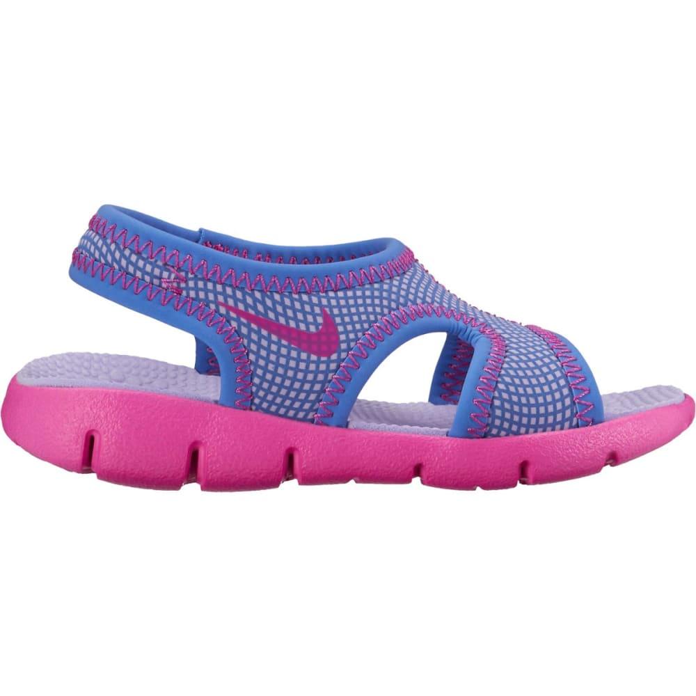 NIKE Infant Girls' Sunray 9 Sandals - HYDRANGEAS