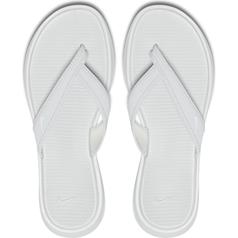 NIKE Women's Ultra Celso Flip Flops - PURE PLATINUM