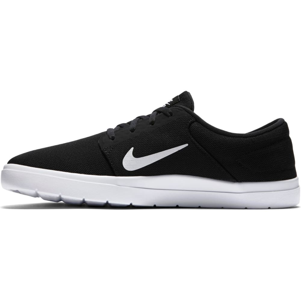 NIKE SB Men's Portmore Ultralight Skate Shoes - BLACK