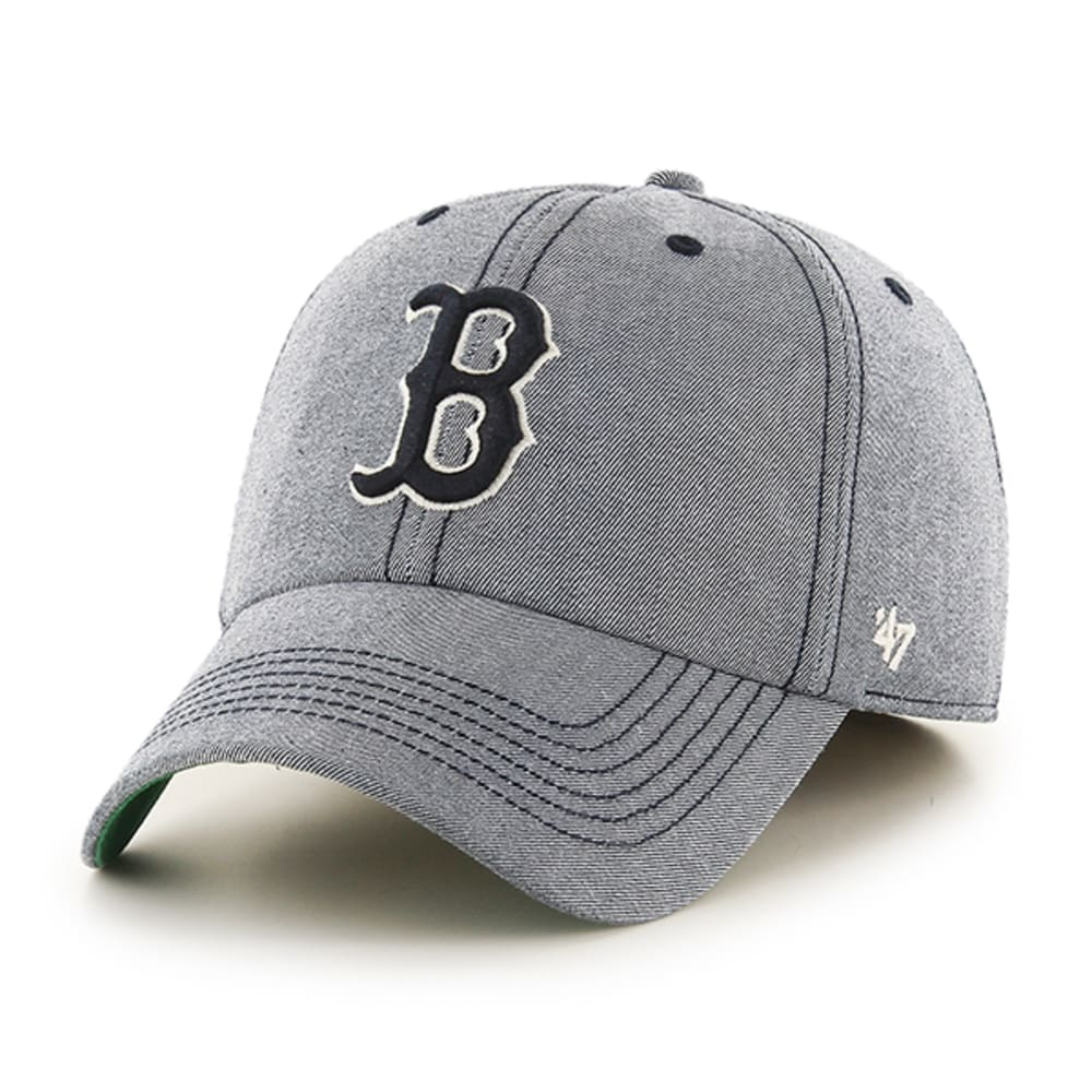 BOSTON RED SOX Men's Undertow Colfax '47 Franchise Fitted Cap - GREY