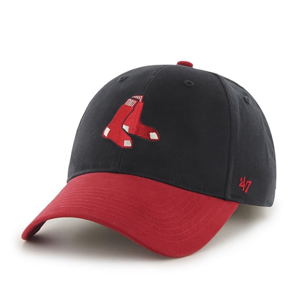 BOSTON RED SOX Kids' Short Stack 47 MVP Cap - NAVY