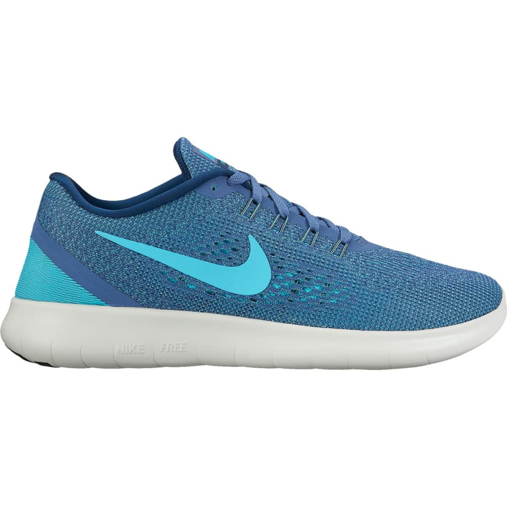 NIKE Women's Free RN Running Shoes - BLUE MOON/POLAR BLUE
