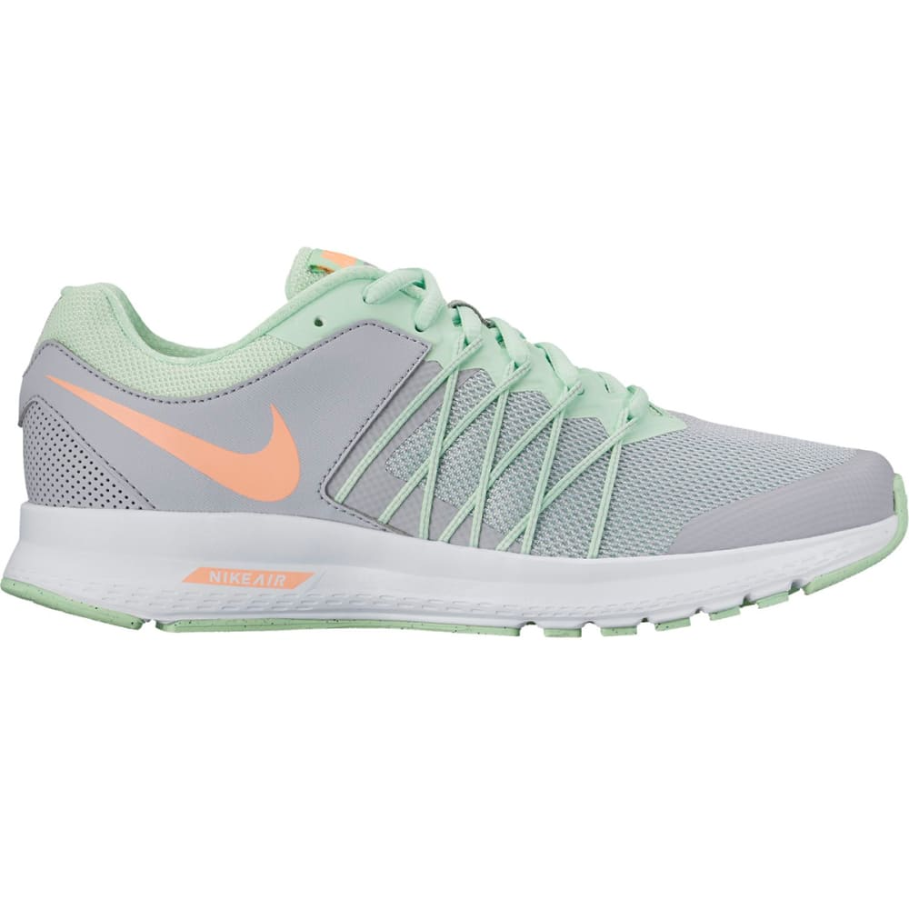 NIKE Women's Air Relentless 6 Running Shoes - WOLF GREY/SUNSET GLO