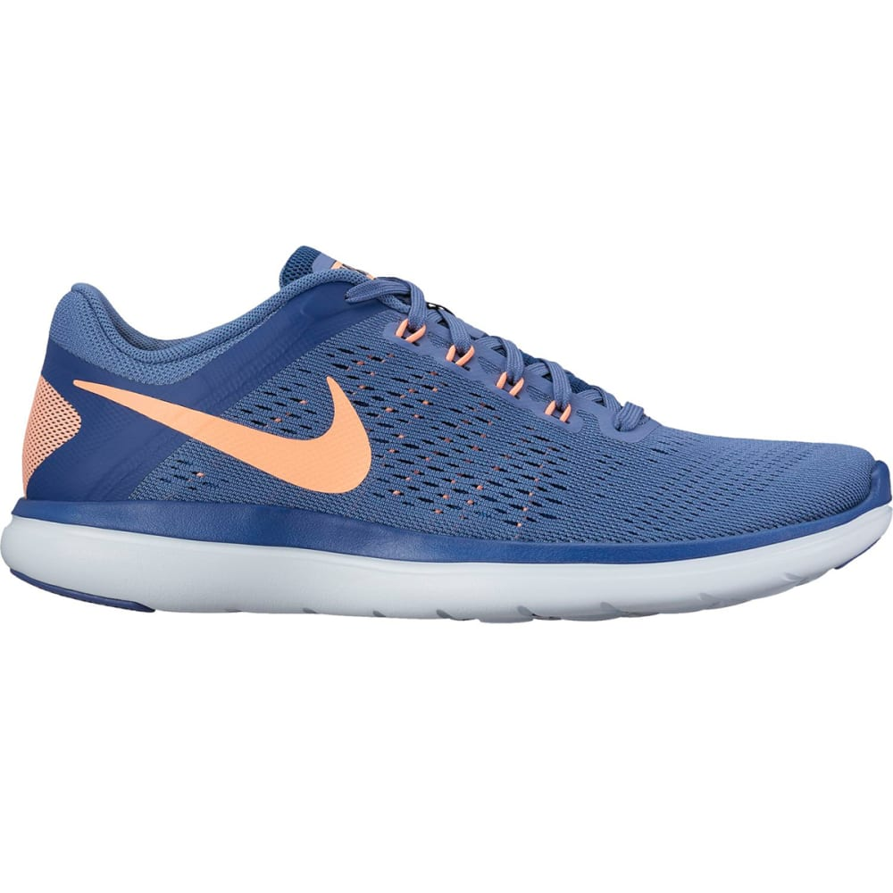 NIKE Women's Flex 2016 RN Running Shoes - BLUE MOON