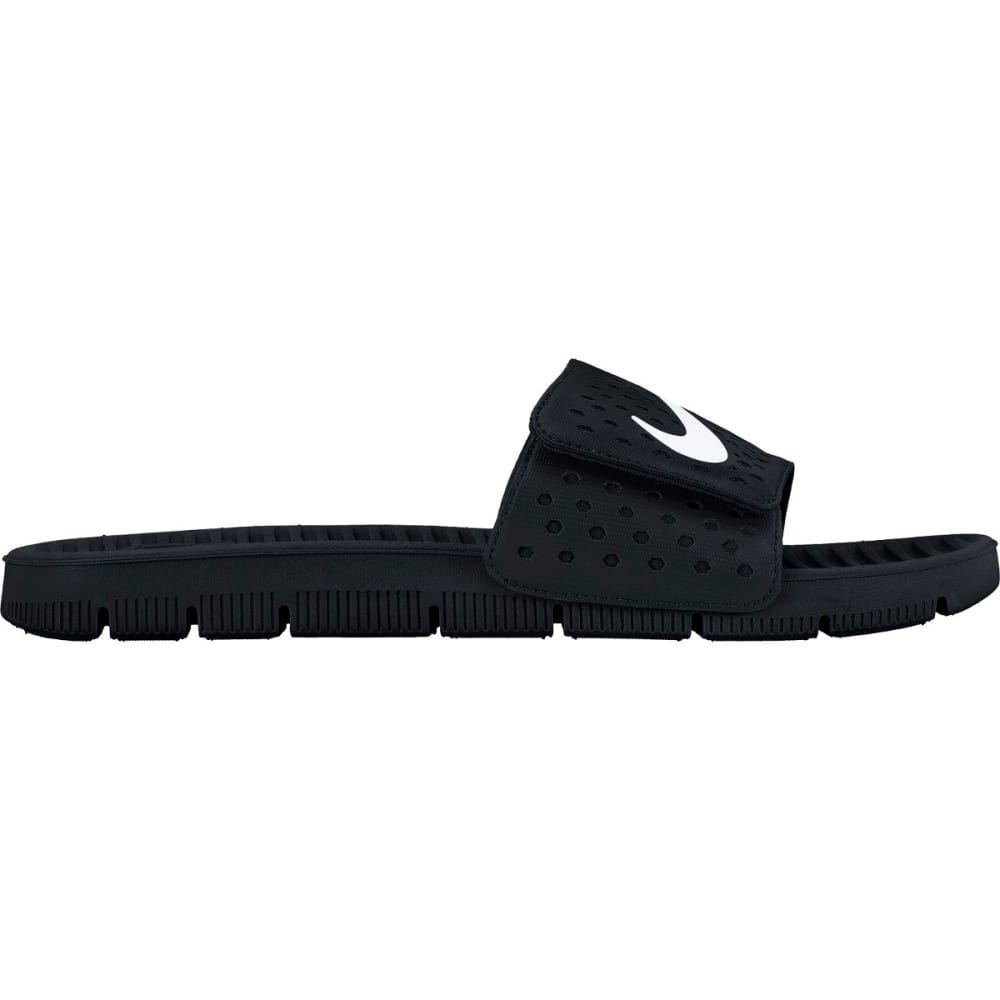 NIKE Men's Flex Motion Slide Sandals - BLACK